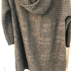 American Eagle Outfitters Sweaters - American Eagle Hooded Cardigan